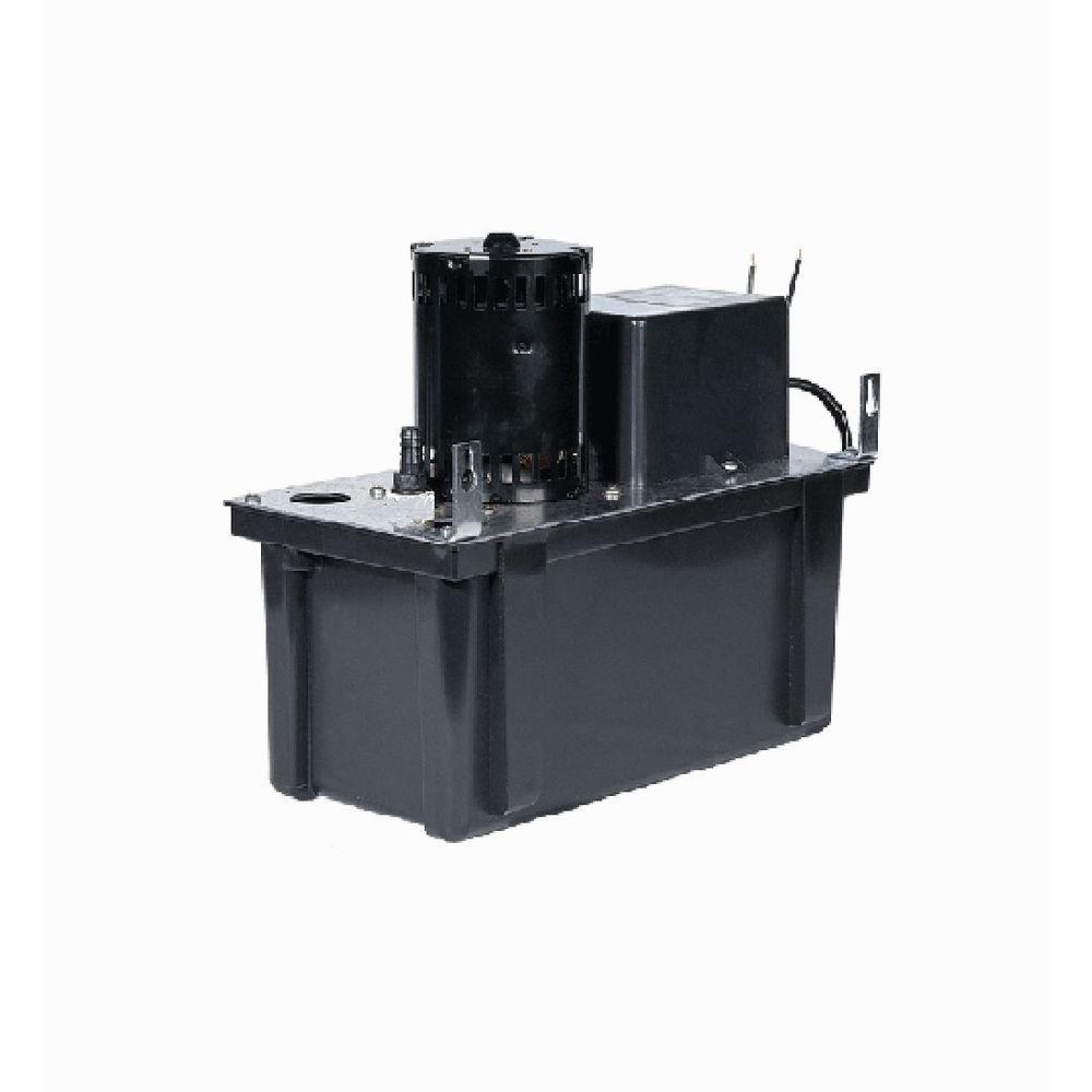 everbilt 120 volt condensate removal pump eb pump the home depotvcl 24uls 115 volt condensate removal pump