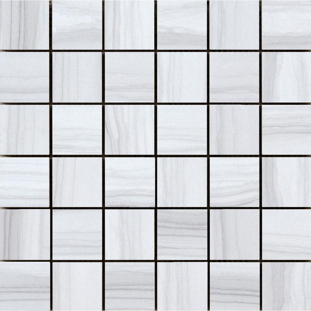 Archive Era 12.01 in. x 12.01 in. x 10mm Porcelain Mesh-Mounted
