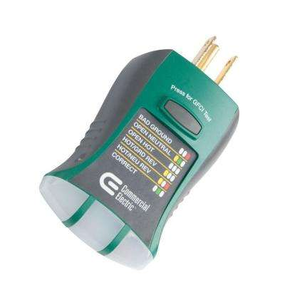 GFCI Outlet Circuit Analyzer Tester