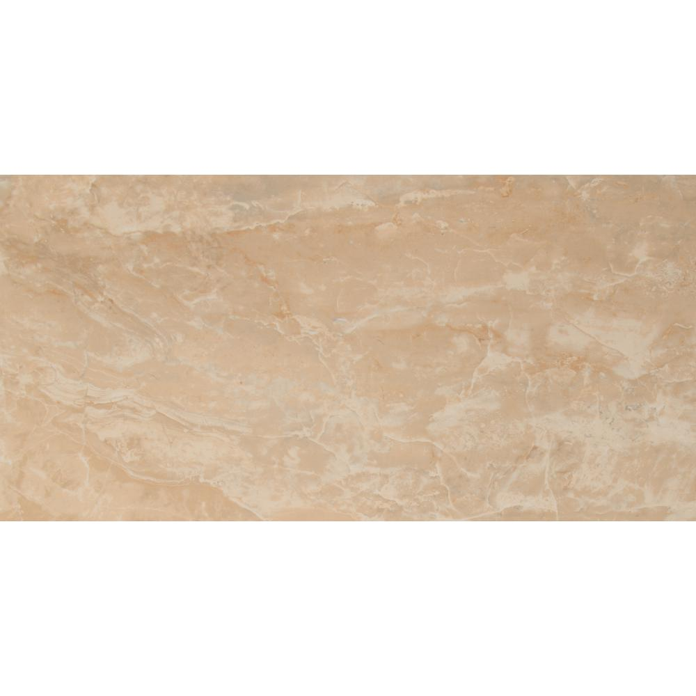 Msi Onyx Crystal 12 In X 24 Polished Porcelain Floor And Wall Tile