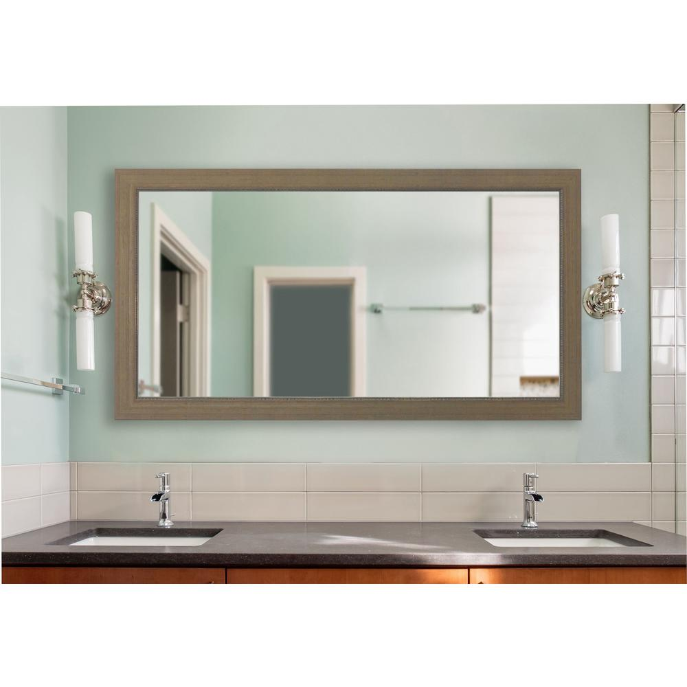 Rayne Mirrors 77.5 in. x 38.5 in. Champagne Colville Vani...