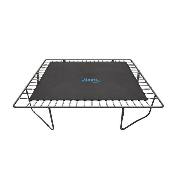 Trampoline Jumping Mat, Fits for 13 ft. x 13 ft. Square Frames with 84 V-Rings, Using 7.5 in. Springs-Mat Only