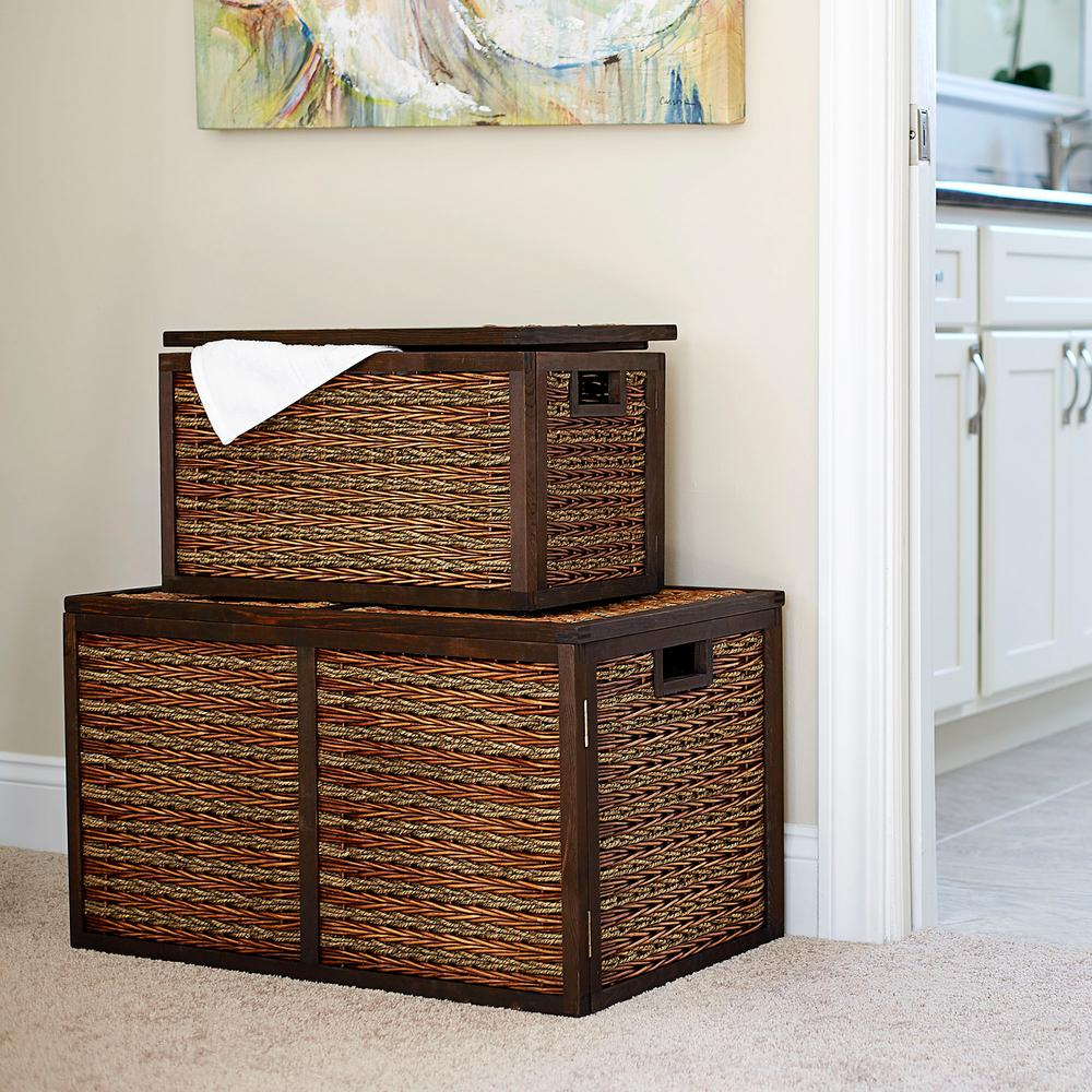 High Quality Household Essentials Brown Trunk