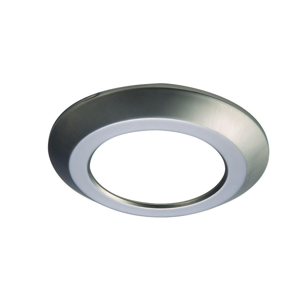 Halo SLD 6 in. Satin Nickel Recessed Lighting Retrofit Replaceable ...