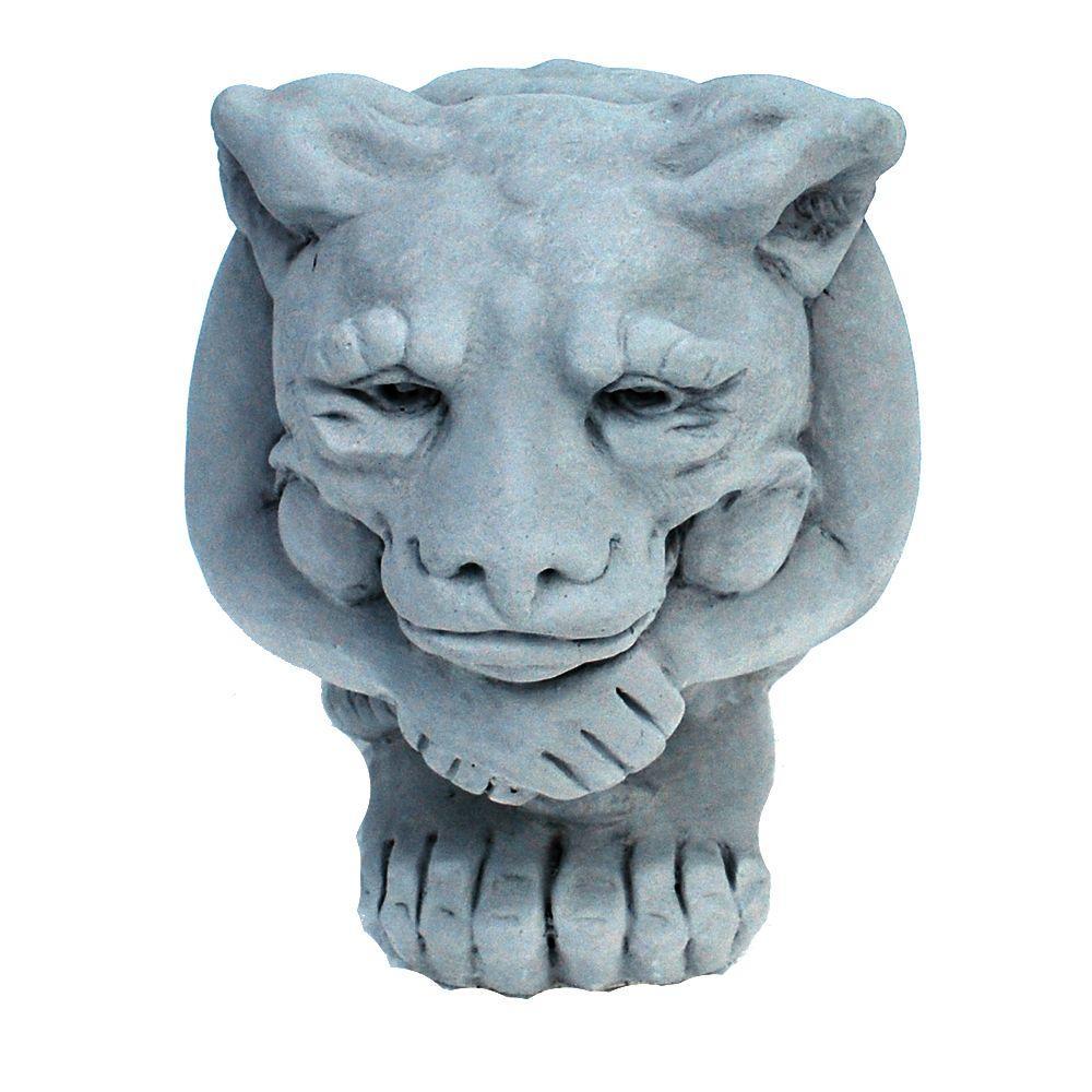 Nichols Bros. Stoneworks Cast Stone Small Igor Gargoyle Garden Statue Antique Gray