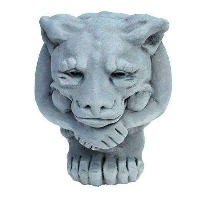Cast Stone Small Igor Gargoyle Garden Statue Antique Gray