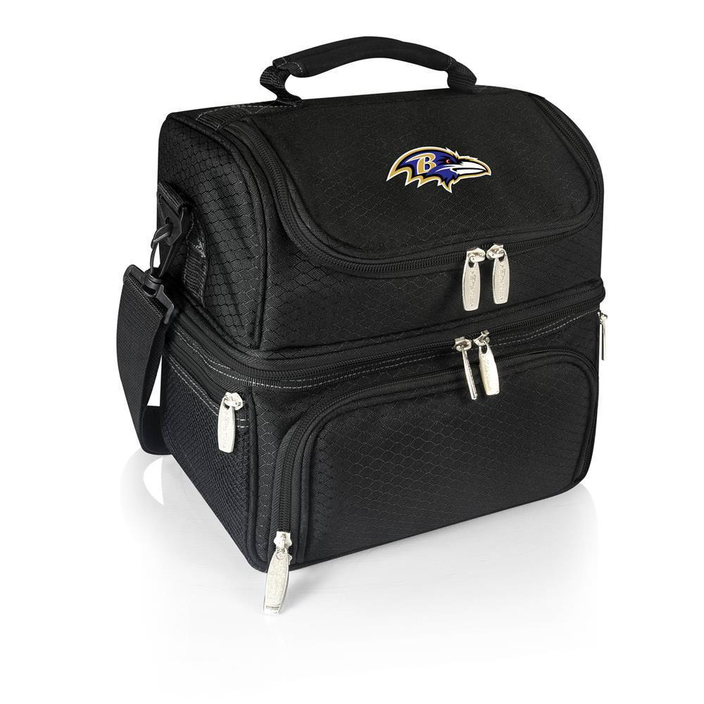 Pranzo Black Baltimore Ravens Lunch Bag