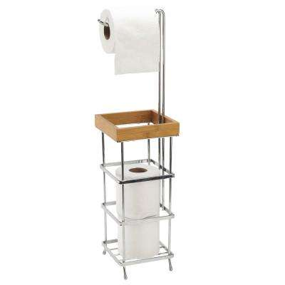 4-Roll Toilet Paper Reserve and Dispenser
