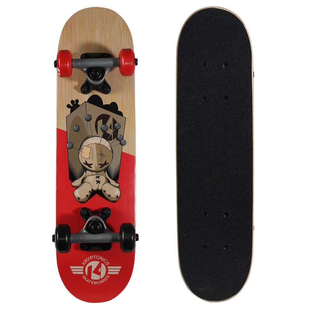 22 in. x 5.75 in. Locker Board Complete Skateboard