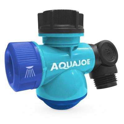 Multi-Function Outdoor Faucet and Garden Hose Tap Connector