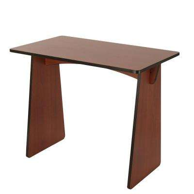 Cherry Laminated Knock Down Desk