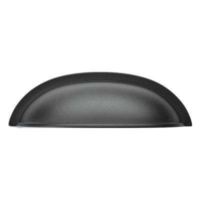 Williamsburg Collection Cup 3 in. (76 mm) C/C Oil-Rubbed Bronze Cabinet Door and Drawer Pull