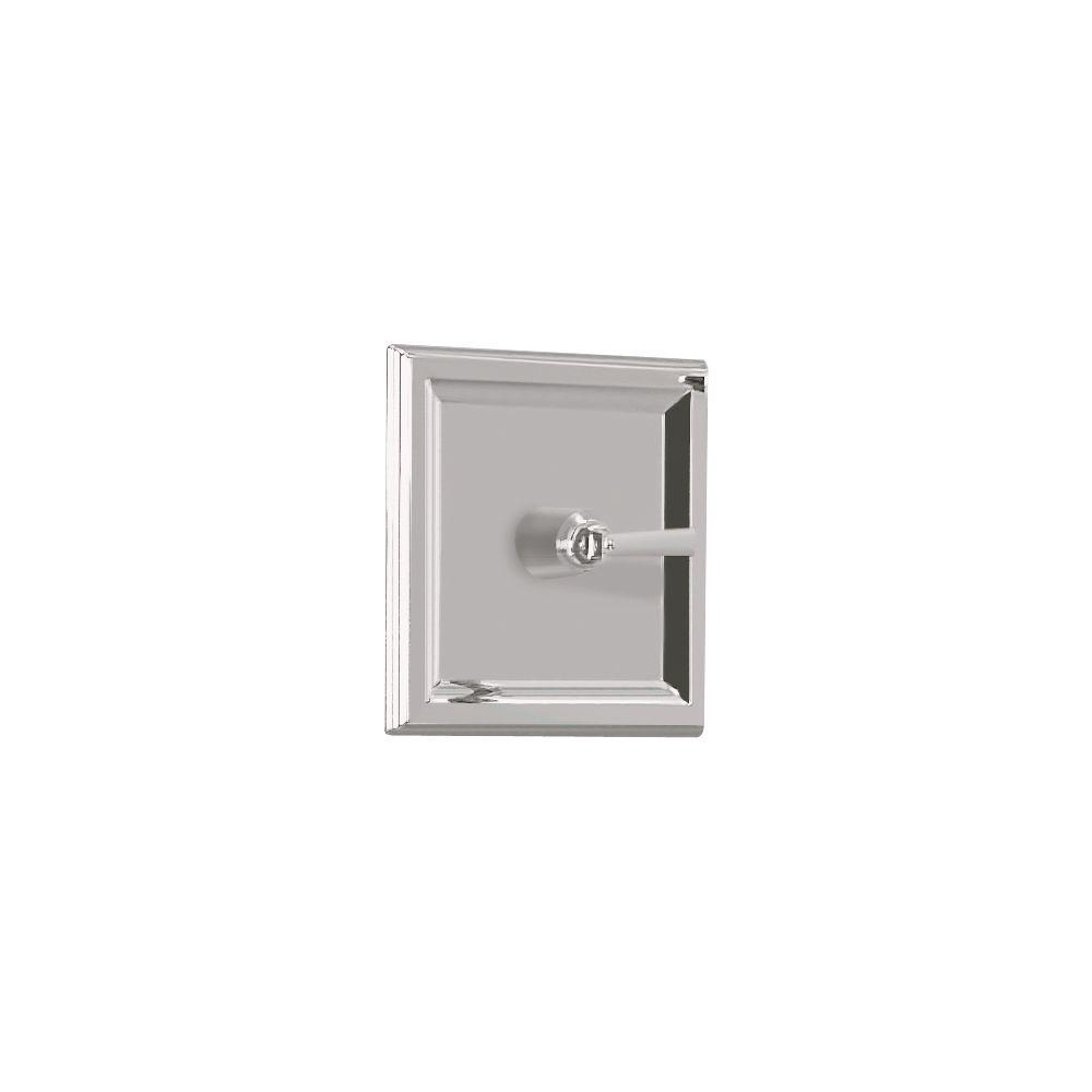 American Standard TOWN SQUARE 1-Handle Central Thermostatic Valve Trim Kit in Satin Nickel (Valve Sold Separately)