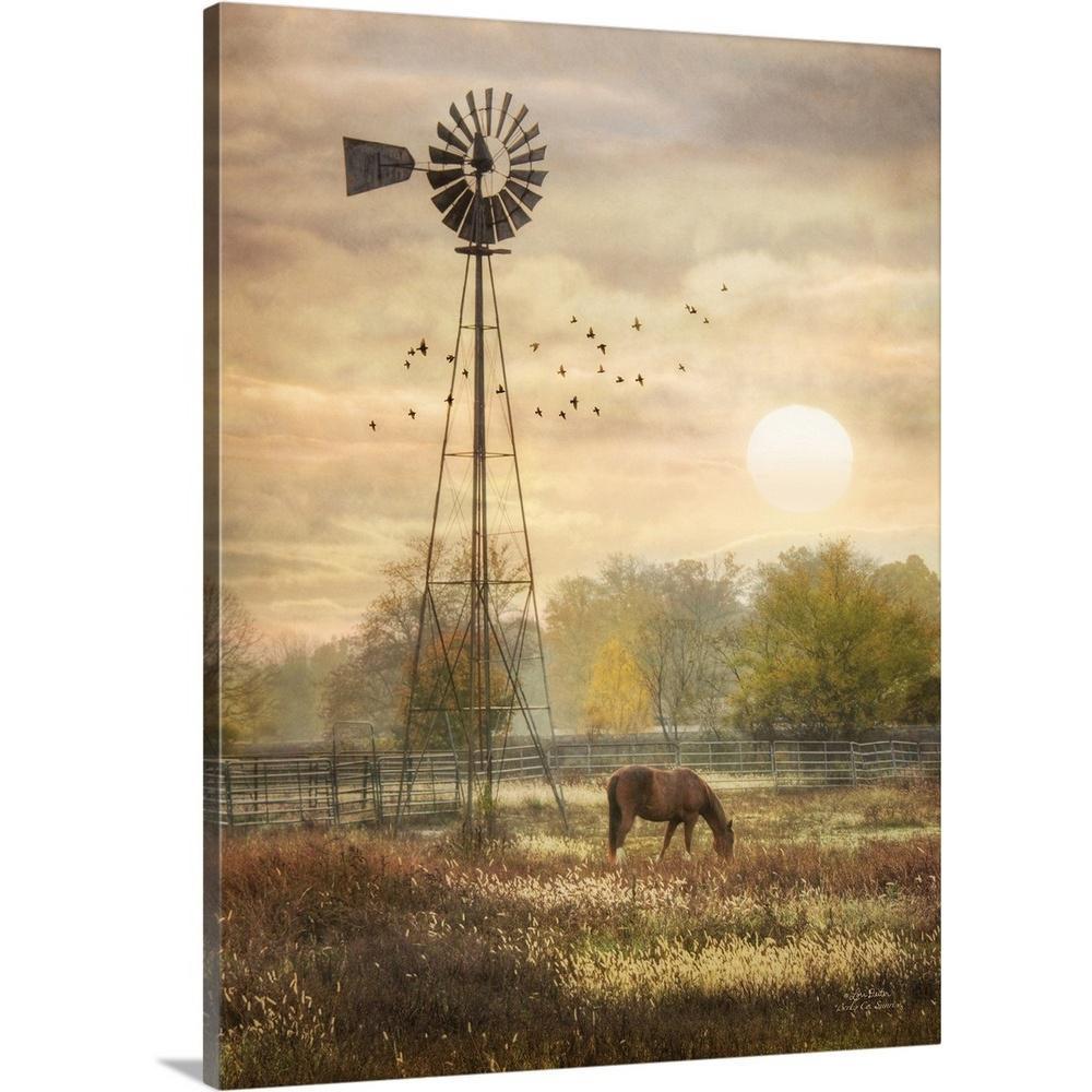 """Berks Co. Sunrise"" by Lori Deiter Canvas Wall Art"