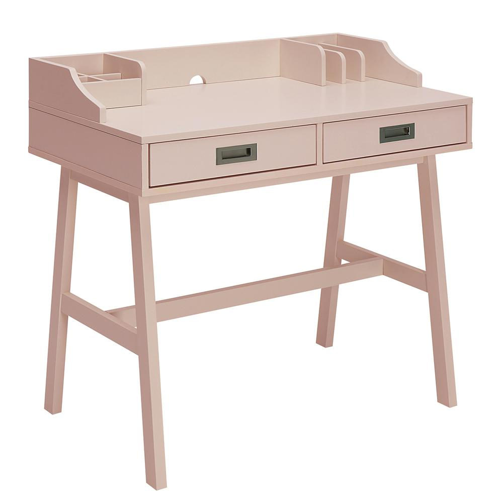 Sadie New Pink Small Office Desk