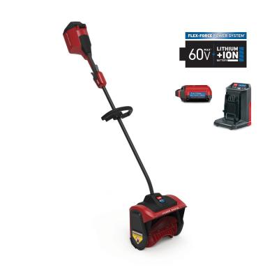 12 in. 60-Volt Battery Cordless Electric Snow Shovel with 2.5 Ah Battery Plus Charger