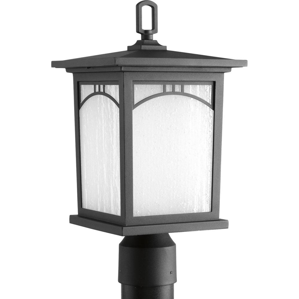 Progress Lighting Residence Collection 1-Light Textured Black Outdoor LED Post Lantern was $99.97 now $39.34 (61.0% off)