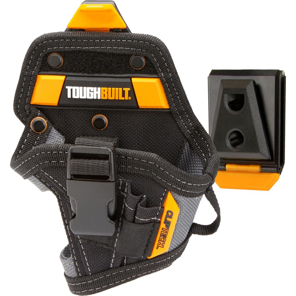 TOUGHBUILT 13-Pocket Lithium-Ion Drill Holster in Black