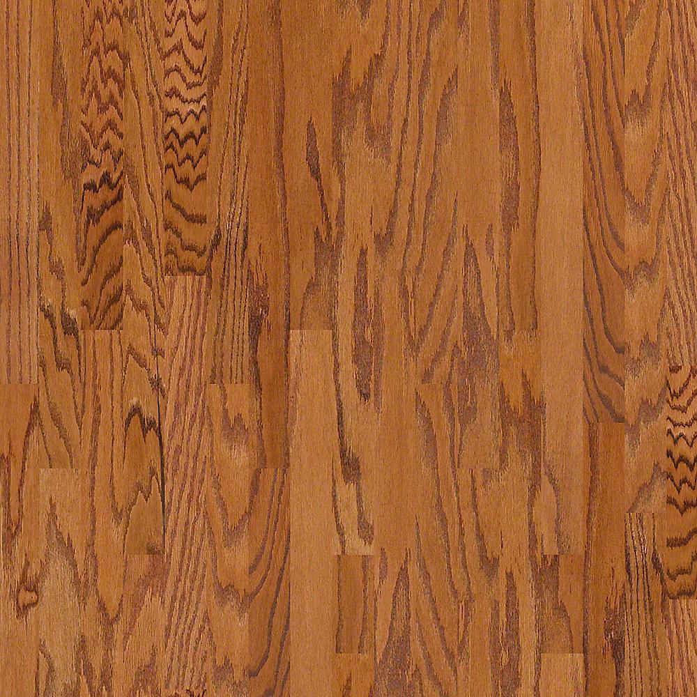Take Home Sample - Bradford Oak Sunset Oak Engineered Hardwood Flooring - 3.25 in. x 8 in.