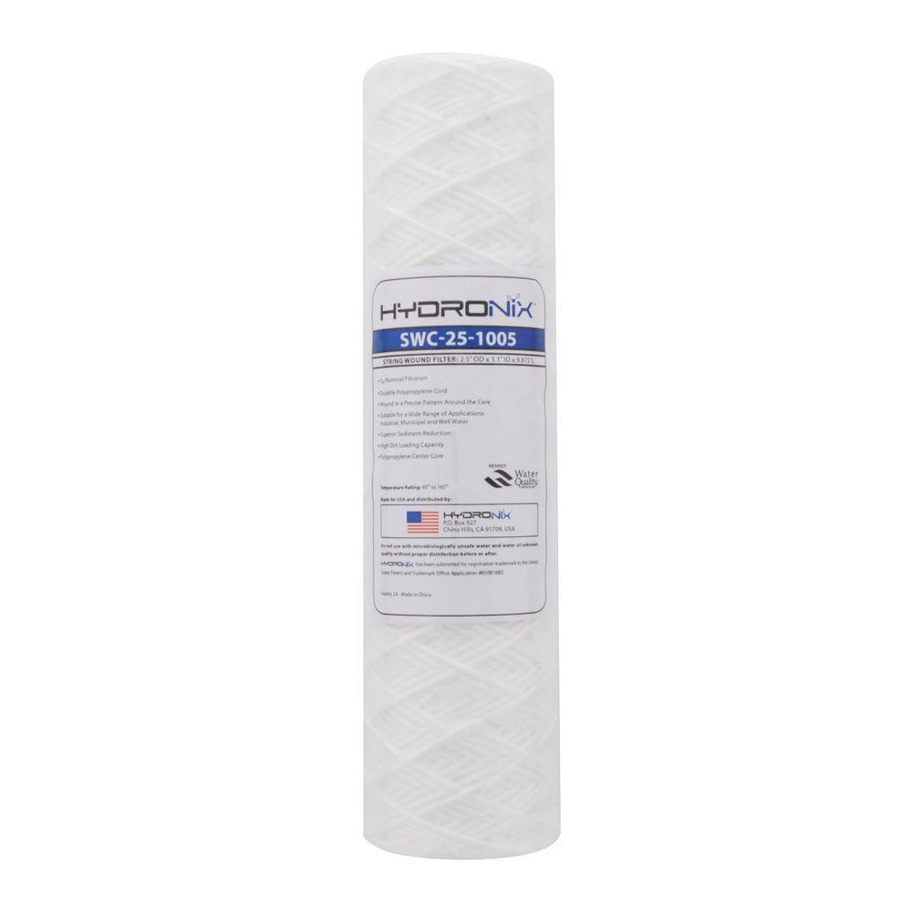 5 Micron Hydronix SDC-25-0505 NSF Sediment Filter 2.5 OD X 4 7//8 Length