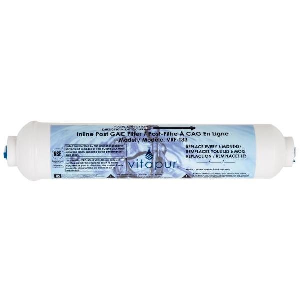 Reverse Osmosis Replacement Final Stage Water Filter Reverse Osmosis Treatment Systems Fits VRO-4U, VRO-5Q