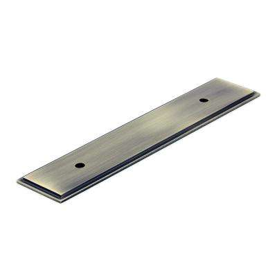 7-13/32 in. Antique English Pull Backplate