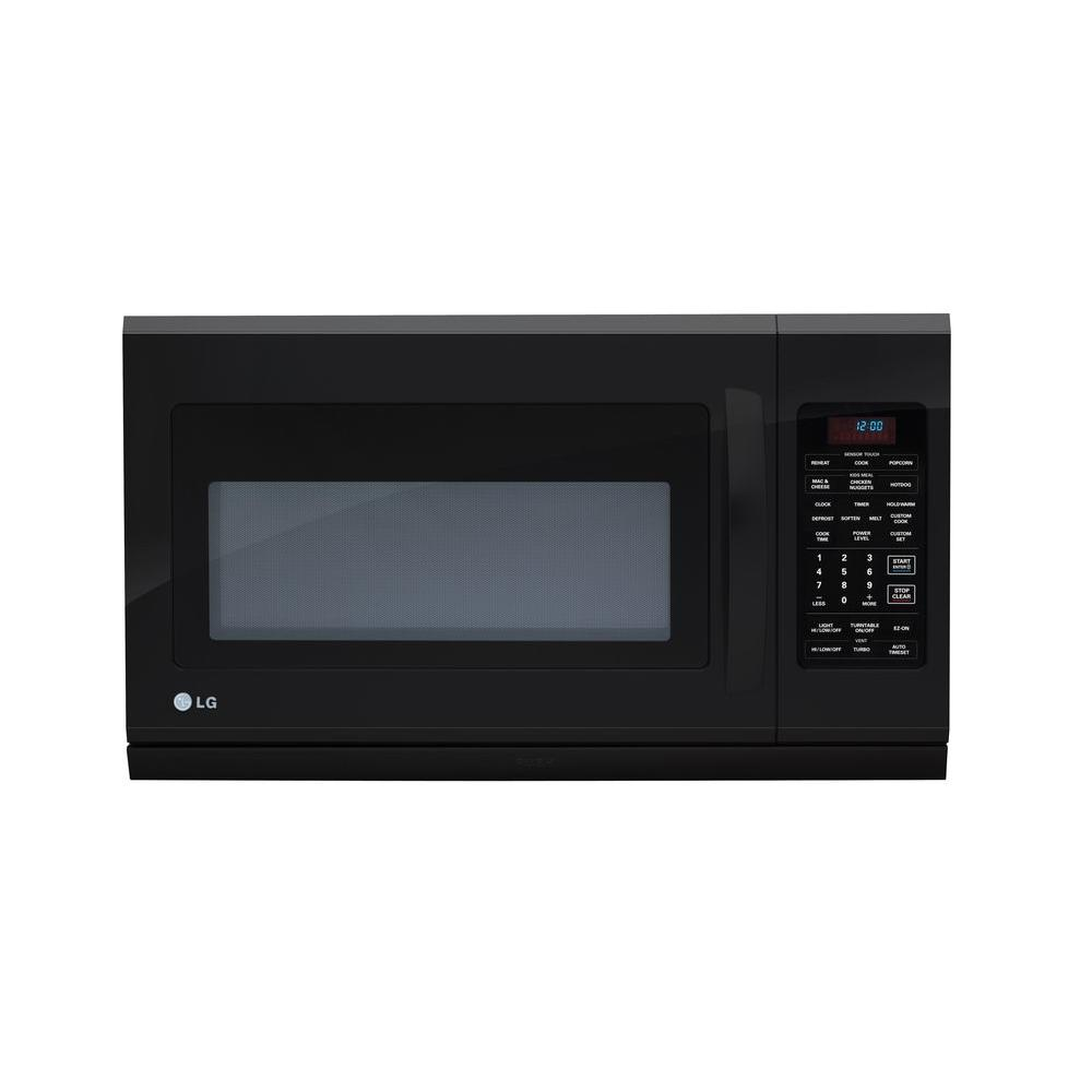 LG Electronics 2.0 cu. ft. Over-the-Range Microwave with Extenda Vent in Black