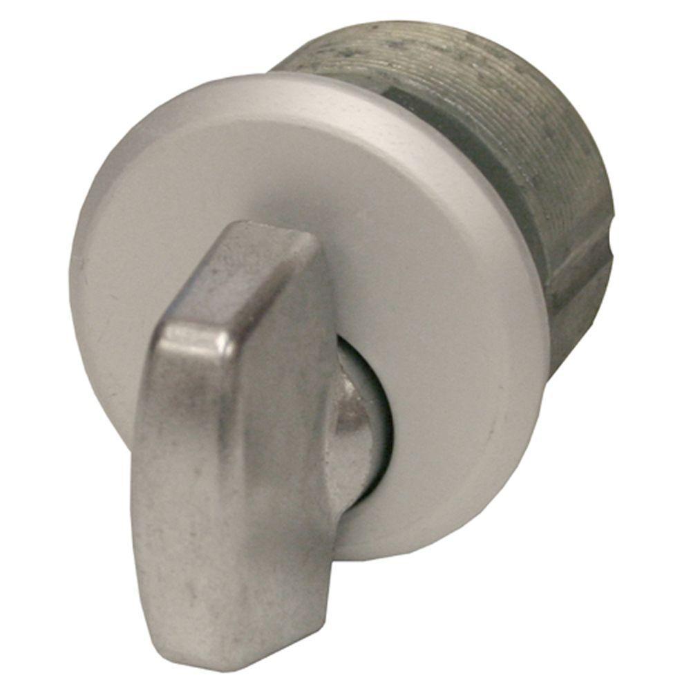 Aluminum Zinc Thumbturn in Aluminum