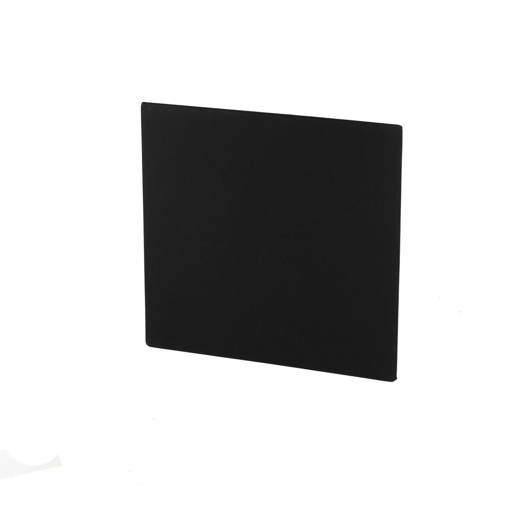 24 in. W x 24 in. L x 1.6 in. H Black Fabric, Absorption Plus Diffusion Panels - Single Small Panel