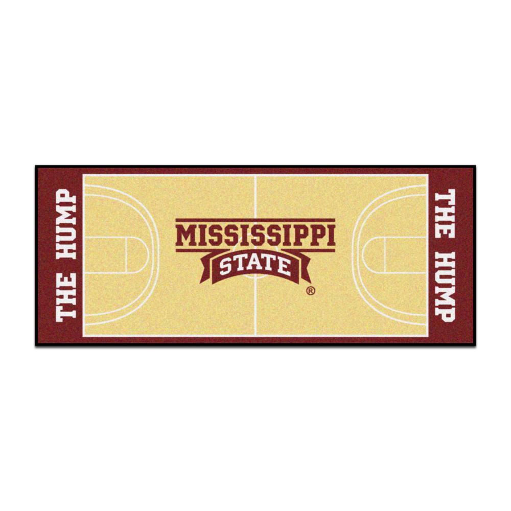 NCAA - Mississippi State University Tan 2 ft. 6 in. x