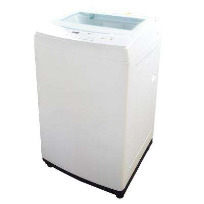 1.60 cu. ft. White Compact Top Load Washer with Stainless Steel Tub