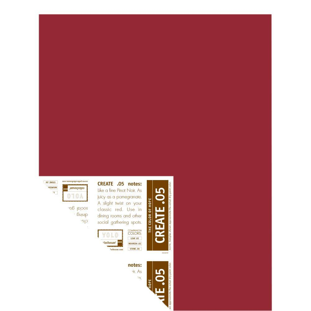 YOLO Colorhouse 12 in. x 16 in. Create .05 Pre-Painted Big Chip Sample