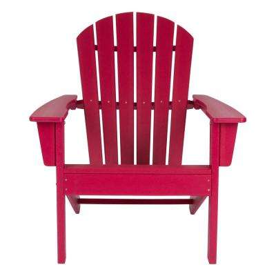 Chilli Pepper Seaside Plastic Adirondack Chair