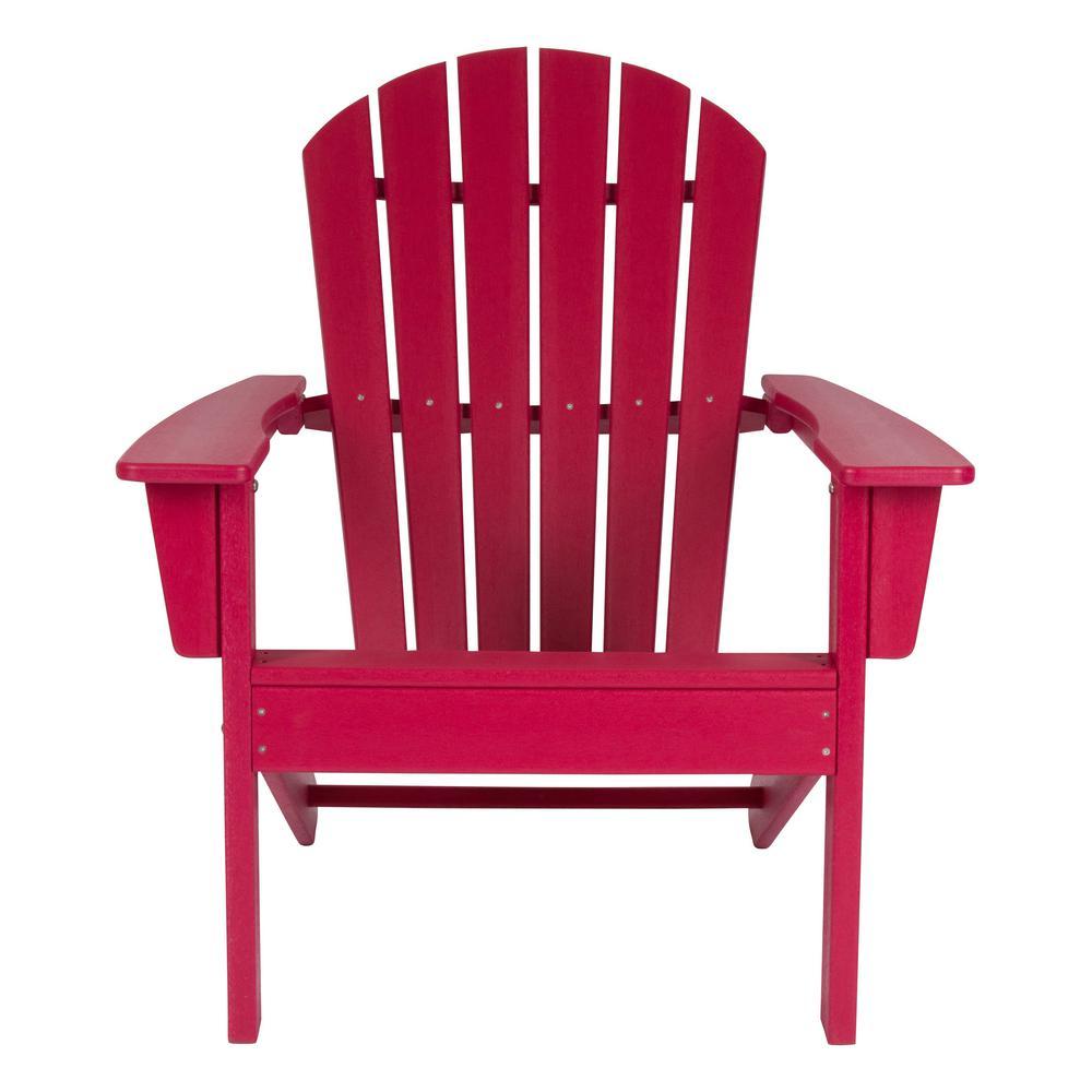 Chilli Pepper Seaside Plastic Adirondack Chair