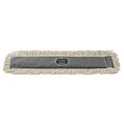 36 in. Cotton Dust Dry Mop Replacement Head (3-Pack)