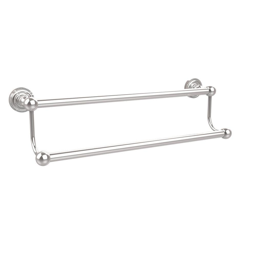 Dottingham Collection 24 in. Double Towel Bar in Polished Chrome