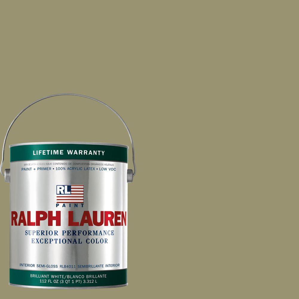 Ralph Lauren 1-gal. French Khaki Semi-Gloss Interior Paint