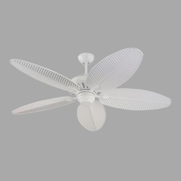 Cruise 52 in. Indoor/Outdoor White Ceiling Fan
