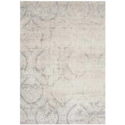 Princeton Gray/Beige 9 ft. x 12 ft. Area Rug