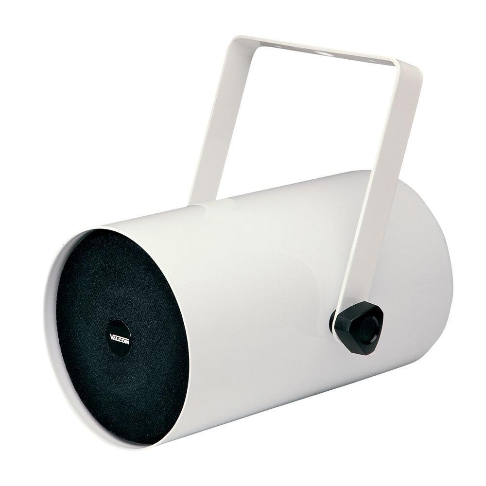 1-Watt 1-Way Track-Style Speaker - White