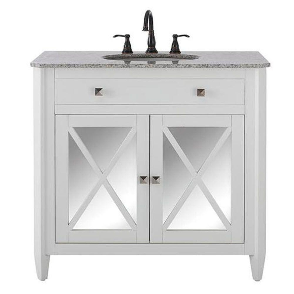 Home decorators collection barcelona 37 in vanity in for Home decorators vanity top