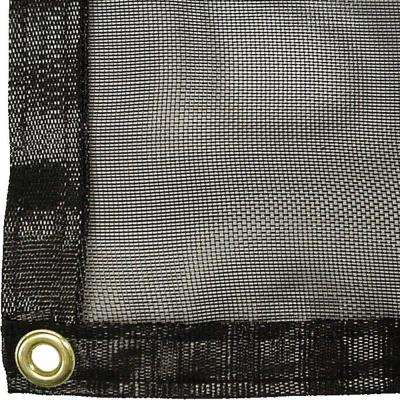 6 ft. x 18 ft. Knitted Shade Clothes with Grommets and 70% Shade Protection