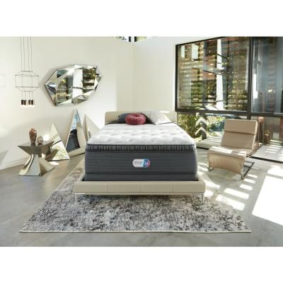 Platinum Haven Pines 16 in. King Luxury Firm Pillow Top Low Profile Mattress Set