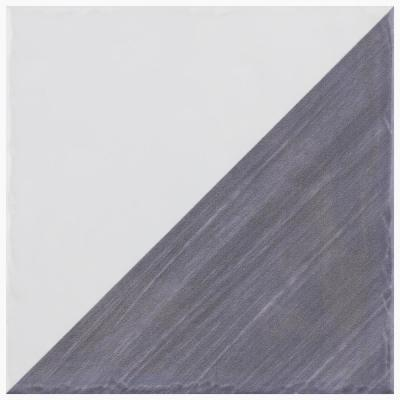 Triangle Rustique Glossy Blue 6 in. x 6 in. Ceramic Wall Tile (7.47 sq. ft./Case)