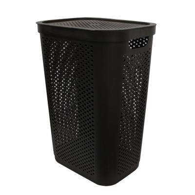 Modern Homes 60 L Laundry Hamper Brown