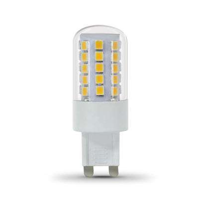 40-Watt Equivalent Daylight (5000K) G9 Bi-Pin LED Light Bulb