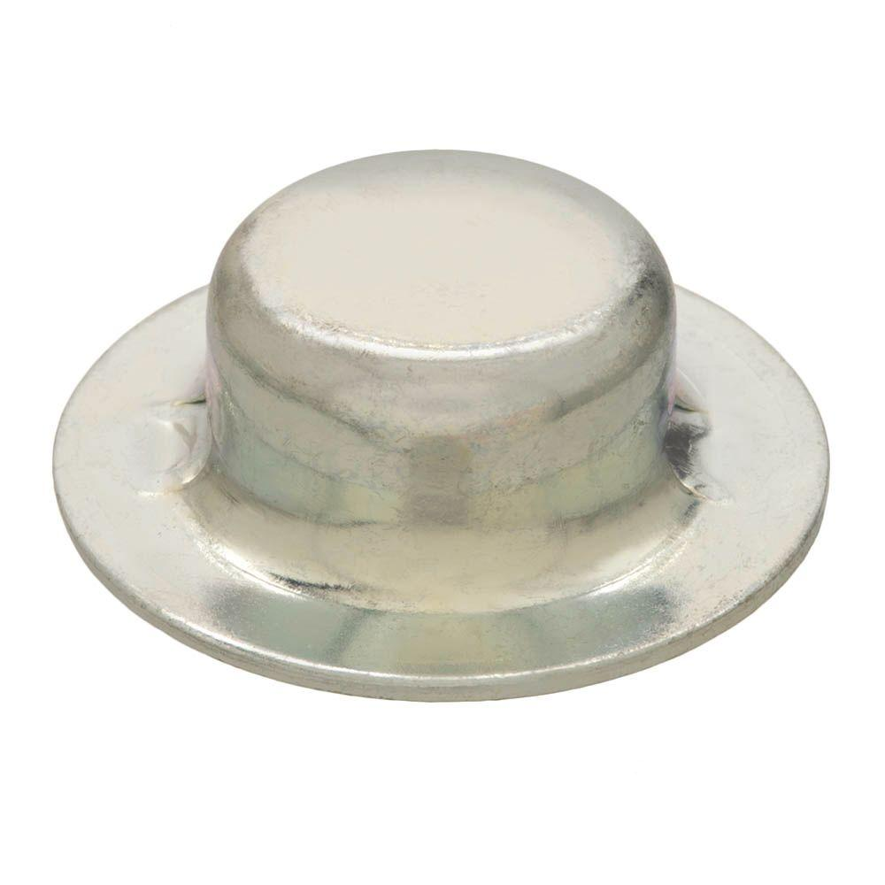1/4 in. Zinc-Plated Washer-Cap Push Nuts (2-Pieces)