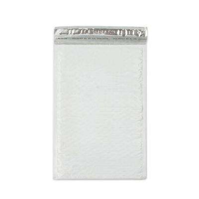 8.5 in. x 13.75 in. White Poly Bubble Mailers Envelope with Adhesive Easy Close Strip (100-Case)