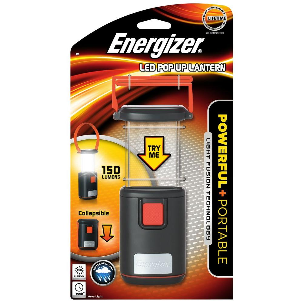 Energizer Fusion LED Pop Up Lantern