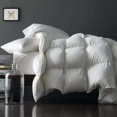 Geneva White King Goose Down Comforter